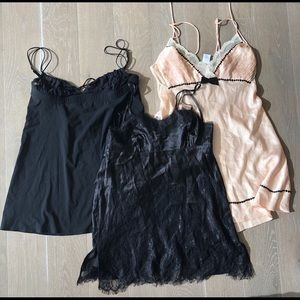 Lot of 3 Chemise